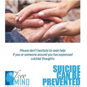 The Freemind Initiative's campaign for suicide prevention